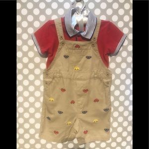 Little Boys Overall Outfit